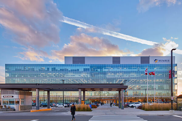 Architectual project Humber college tiles with Holten Impex Ontario Canada