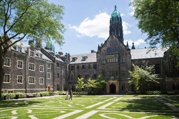 Architectual project University of Toronto Trinity College tiles with Holten Impex Ontario Canada