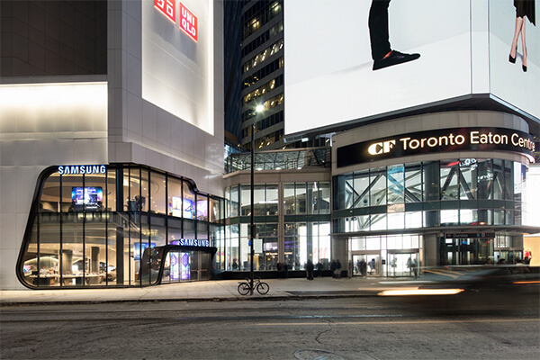 Architectural Project Eaton Centre tiles with Holten Impex Canada