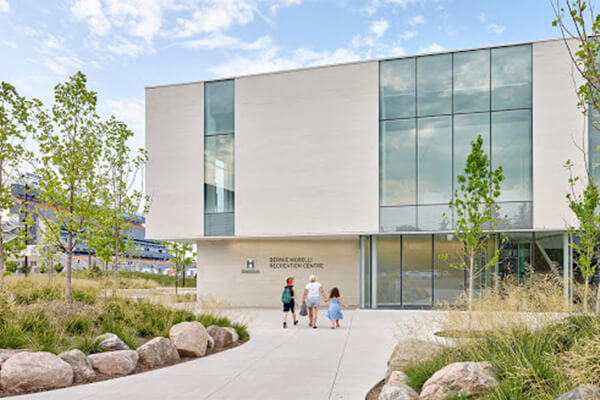 Architectural Project Four Seasons for Performing Arts Bernie morelli rec centre tiles with Holten Impex Ontario Canada