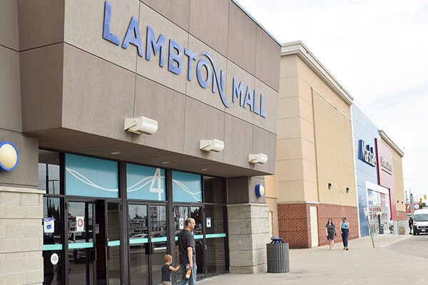 Architectural Project Lambton Mall tiles with Holten Impex Canada