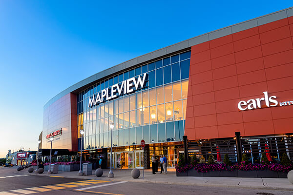 Architectural Project Mapleview Mall tiles with Holten Impex Canada