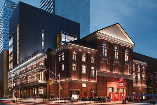 Architectural Project Massey Hall tiles with Holten Impex Ontario Canada