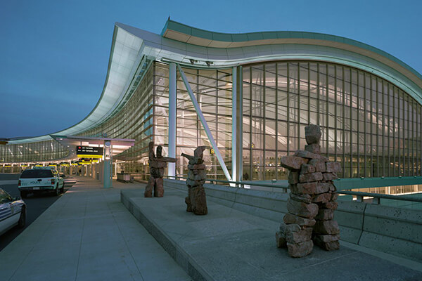 Architectural Project Pearson Airport tile with Holten Impex Ontario Canada