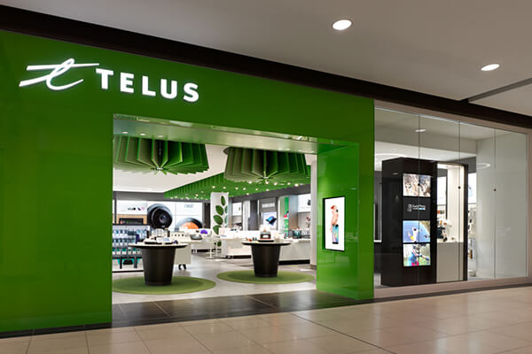Architectural Project Telus tiles with Holten Impex Canada