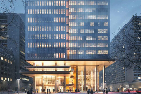 Architectural Project Toronto Court House tiles with Holten Impex Ontario Canada