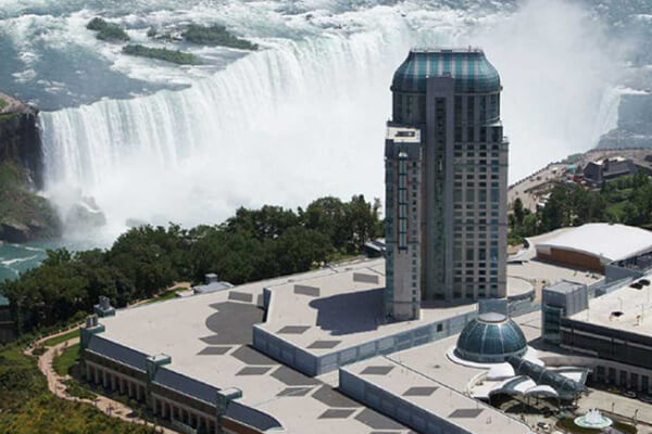 Architectural project Fallsview Hotel tiles with Holten Impex Ontario Canada
