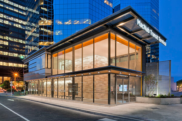 Architectural project MacNab Transit Terminal tile with Holten Impex Ontario Canada