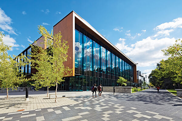 Architectural project University of Toronto Mississauga Campus tiles with Holten Impex Ontario Canada
