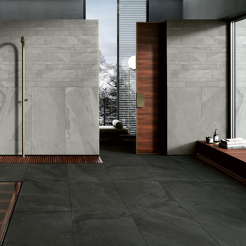 black stone floor tile flooring italy toronto