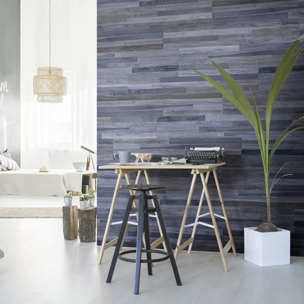 blue wood floor tile wall kitchen backsplash toronto
