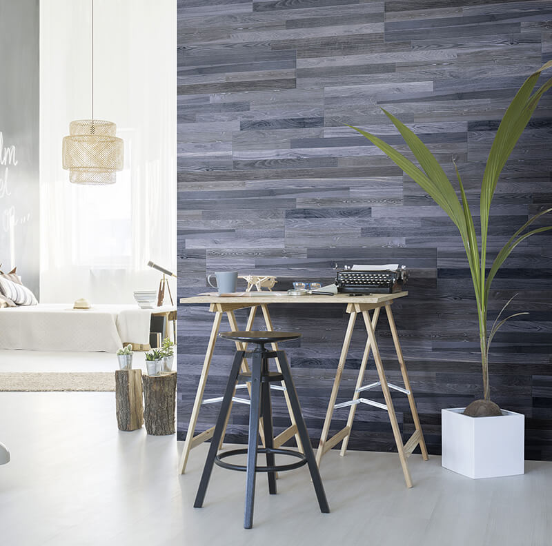 blue wood floor tile wall kitchen backsplash toronto