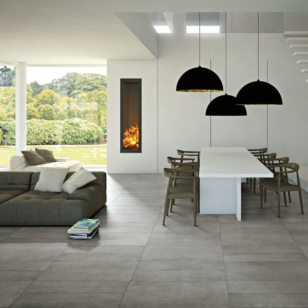 grey concrete cement stone wall tile floor kitchen backsplash ontario