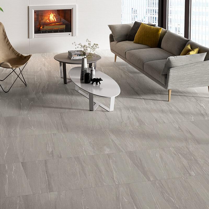 grey stone wall tile floor kitchen shower toronto