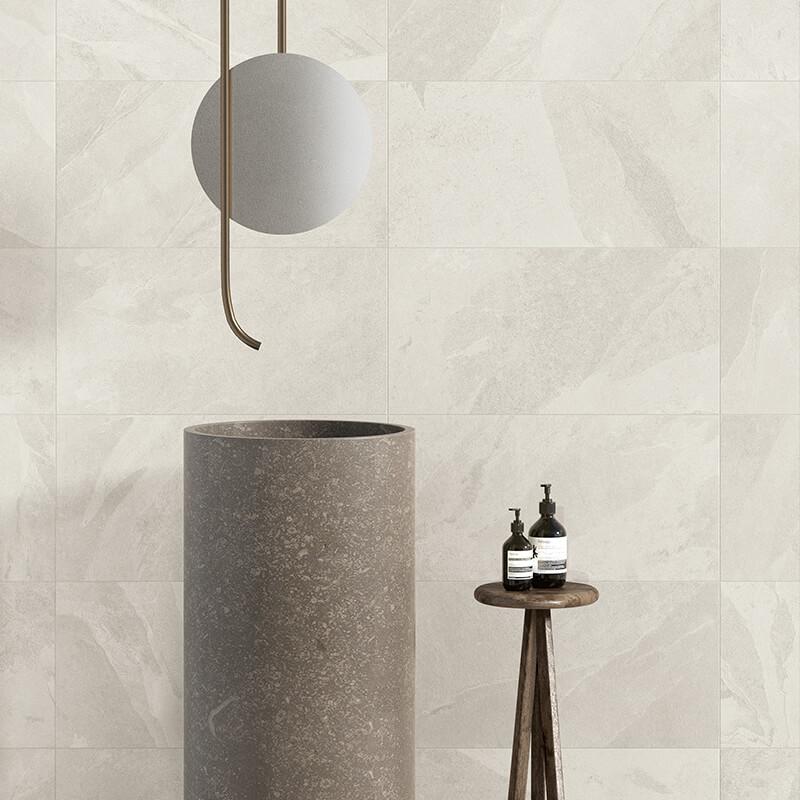 white stone italian bathroom wall floor tile italy toronto